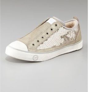 Ugg Laela Sequin Sparkle Shoes 8.5 Sneakers